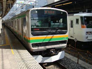 東海道線(東京~熱海)のE231系