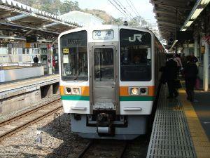 東海道線(熱海~沼津)の211系