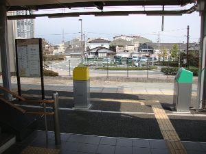 長泉なめり駅改札